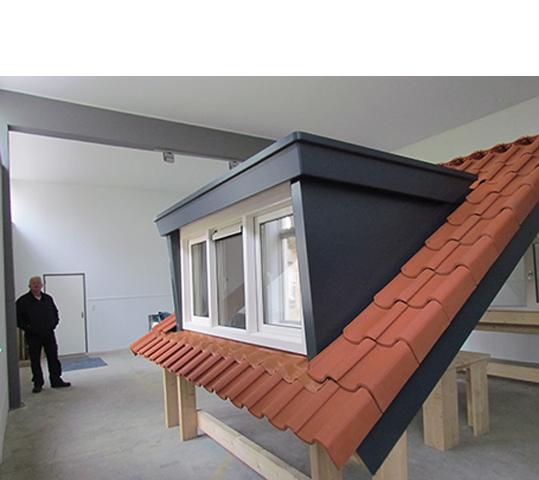 Kunststof dakbedekking voor platte daken